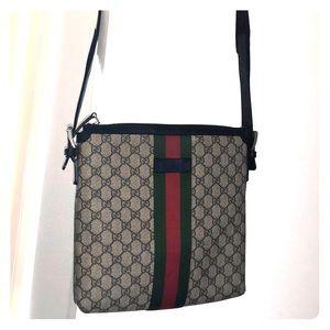 a0625bf14903 Gucci Bags   Web Gg Supreme Messenger Bag   Poshmark